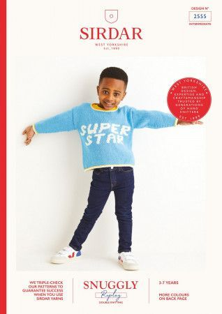 Sweater in Sirdar Snuggly Replay DK (2555)