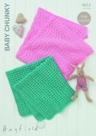 Blankets in Hayfield Baby Chunky (4614)