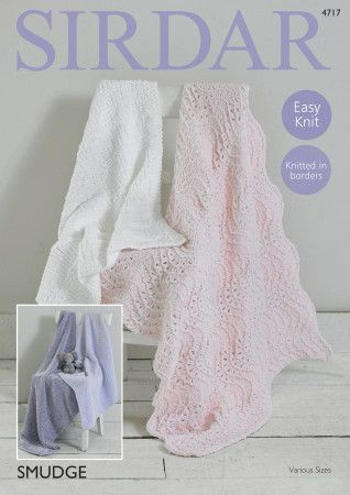 Blankets in Sirdar Smudge (4717)