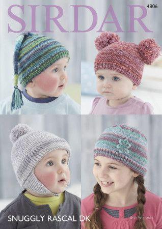 Hats in Sirdar Snuggly Rascal DK (4806)