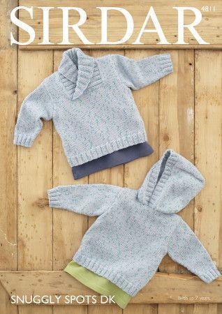 Sweaters in Sirdar Snuggly Spots DK (4811)