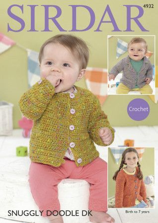 Blazer and Jacket in Sirdar Snuggly Doodle DK (4932)