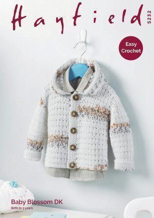 Jacket in Hayfiekd Baby Blossom DK (5232)