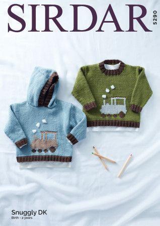 Sweaters in Sirdar Snuggly DK (5290)
