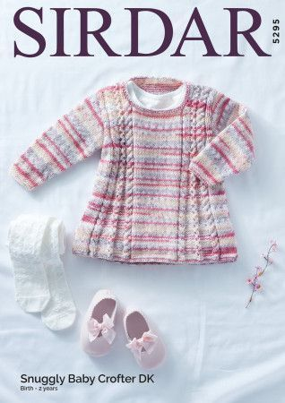 Tunic In Sirdar Snuggly Baby Crofter DK (5295)