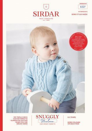 Sweater in Sirdar Snuggly Heirloom (5327)
