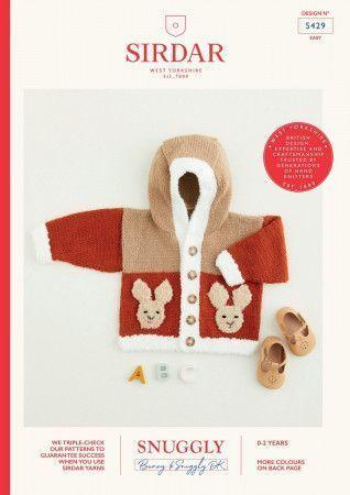 Cardigan in Sirdar Snuggly Bunny DK and Snuggly DK (5429)