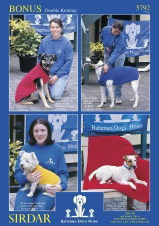 Dog Blanket and Coat in Sirdar Bonus DK (5792)