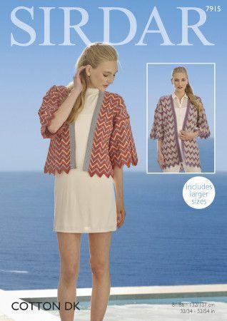 Kimonos in Sirdar Cotton DK (7915)