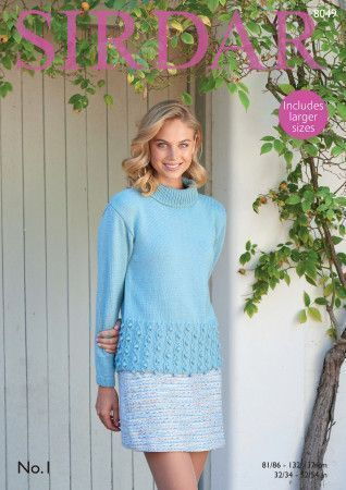 Sweater in Sirdar No. 1 (8049)