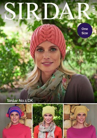 Hats in Sirdar No. 1 (8151)