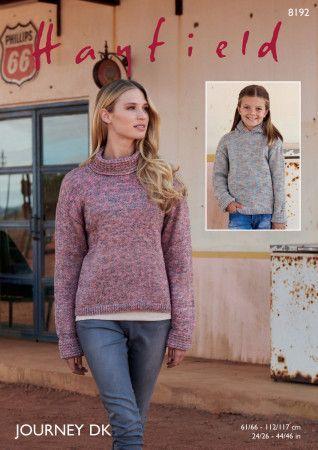 Sweaters in Hayfield Journey DK (8192)