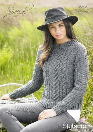 Sweater in Stylecraft Special Aran (9075)
