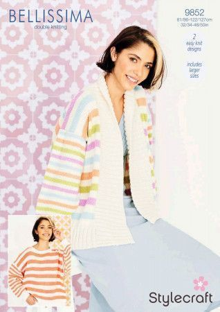 Sweater and Jacket in Stylecraft Bellissima DK (9852)