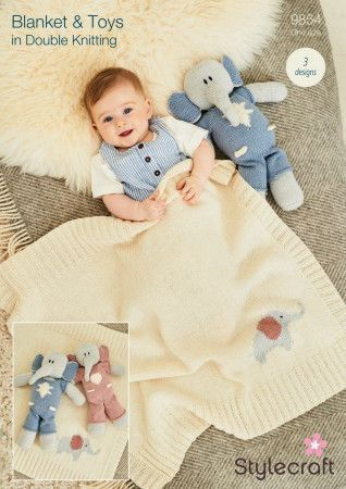 Blanket and Toys in Bambino, Bellissima and Special DK (9854)