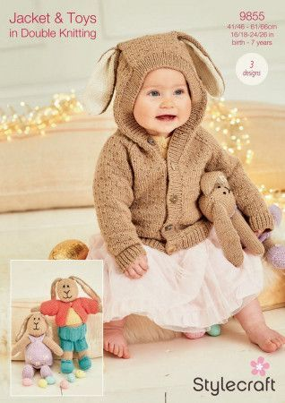 Jacket and Toys in Stylecraft Bellissima, Bambino and Special DK (9855)