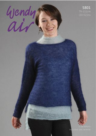 Sweaters and Slipover in Wendy Air (5801)