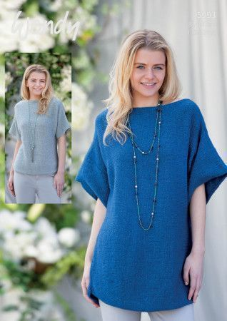 Sweater and Tunic in Wendy Fleur DK (5993)