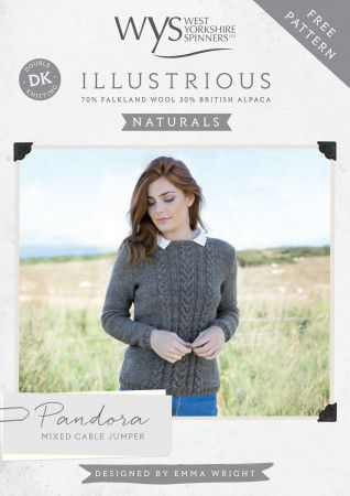 Jumper in West Yorkshire Spinners Illustrious Naturals DK (57999)