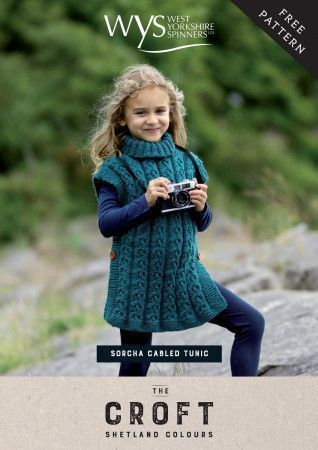 Tunic in West Yorkshire Spinners The Croft Shetland Colours (59997)