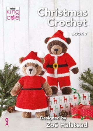 King Cole Christmas Crochet Book 7