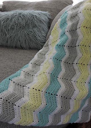 Blanket in Cygnet Pure Baby DK (CY1238)
