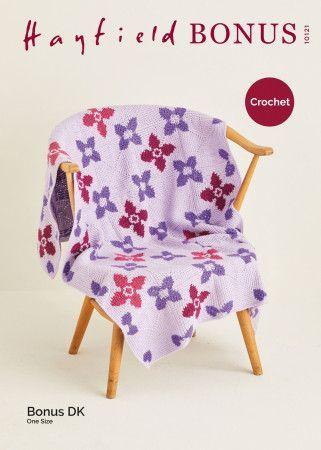 Blanket in Hayfield Bonus DK (10121)