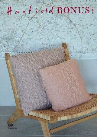 Cushions in Hayfield Bonus DK (10255)