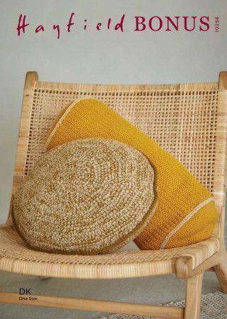 Cushions in Hayfield Bonus DK (10256)
