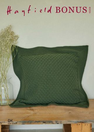 Cushion in Hayfield Bonus DK (10259)