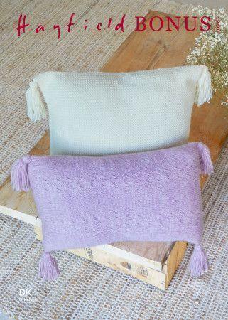 Cushions in Hayfield Bonus DK (10263)