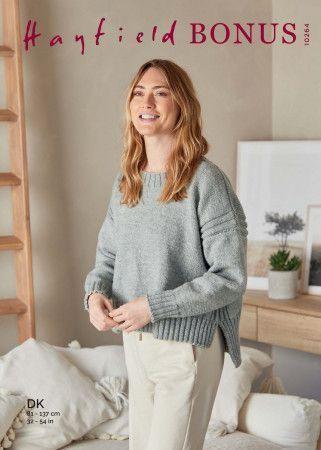 Sweater in Hayfield Bonus DK (10264)