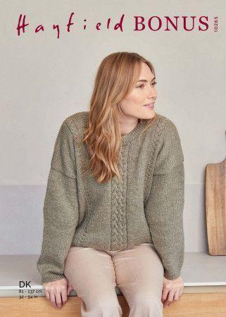 Sweater in Hayfield Bonus DK (10265)
