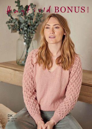 Sweater in Hayfield Bonus DK (10266)