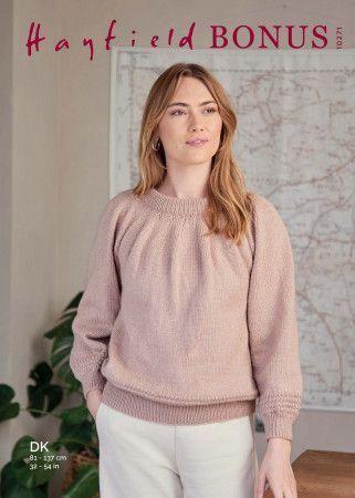 Sweater in Hayfield Bonus DK (10271)
