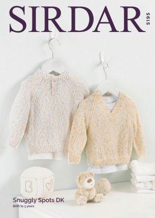 Sweaters in Sirdar Snuggly Spots DK (5195)