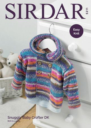 Coat in Sirdar Snuggly Baby Crofter DK (5211)