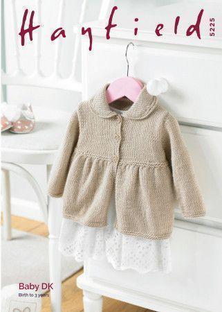 Coat in Hayfield Baby DK (5225)