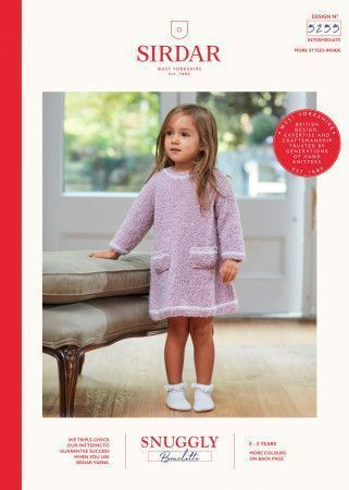 Dress and Hat in Sirdar Snuggly Bouclette (5255)