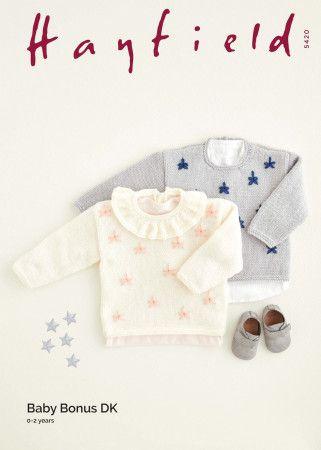 Sweaters in Hayfield Baby Bonus DK (5420)