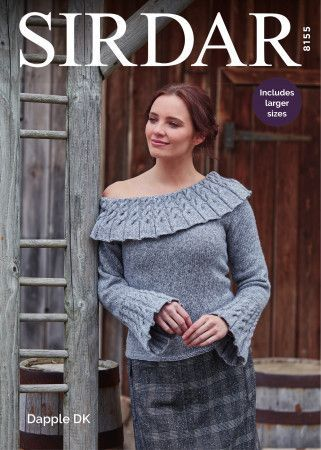 Sweater in Sirdar Dapple DK (8155)