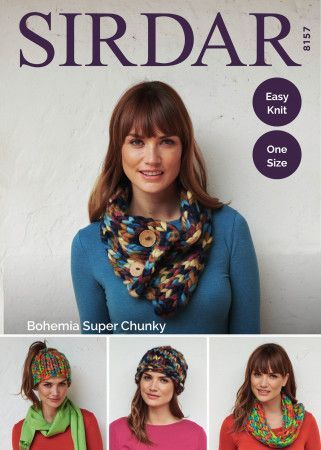 Accessories in Sirdar Bohemia Super Chunky (8157)