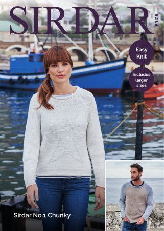 Sweaters in Sirdar No.1 Chunky (8175)