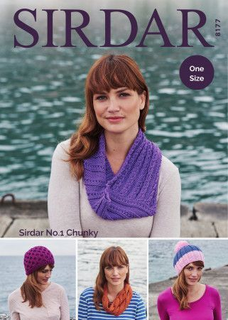 Accessories in Sirdar No.1 Chunky (8177)