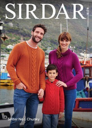 Sweaters in Sirdar No.1 Chunky (8178)