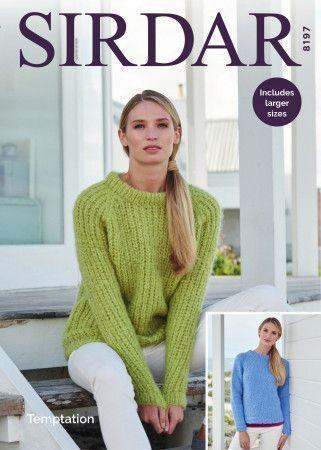Sweaters in Sirdar Temptation (8197)