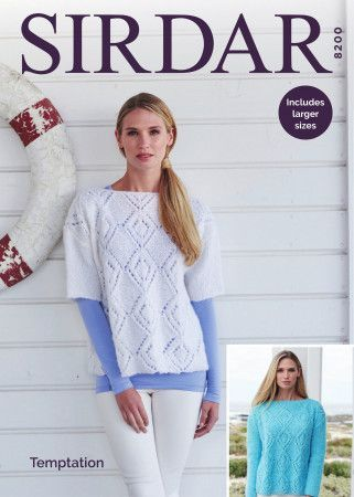 Sweaters in Sirdar Temptation (8200)