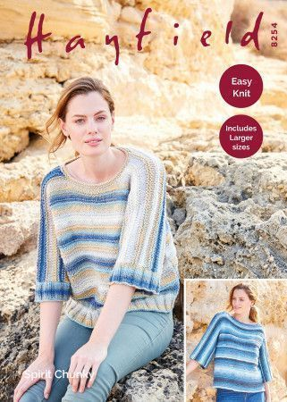 Sweaters in Hayfield Spirit Chunky (8254)