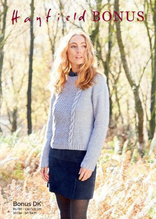 Sweater in Hayfield Bonus DK (8285)