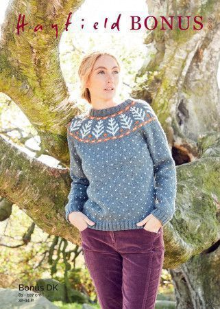 Sweater in Hayfield Bonus DK (8290)